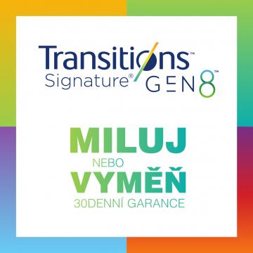 Transitons Signature GEN 8 - Miluj nebo vyměň - 30 denní garance